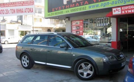 AUDI ALLROAD 2,7 250ip '04 6V ME BRC P&D 52ΛΤ