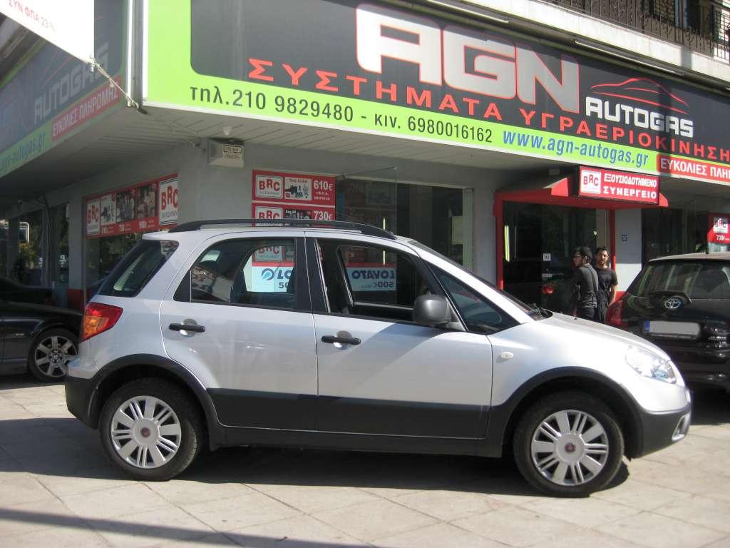 FIAT SEDICI 1600cc '09 ME BRC P&D 48LT