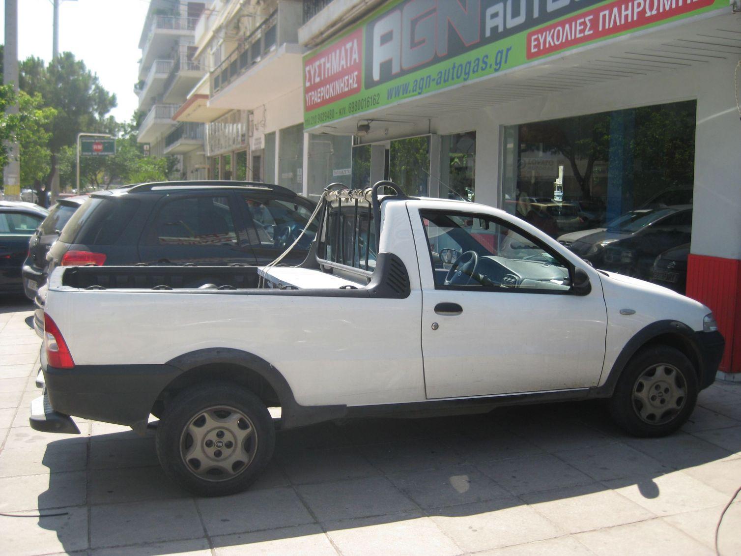 FIAT STRADA 1,2 8V ΦΟΡΤ. '05 ME BRC 90LT