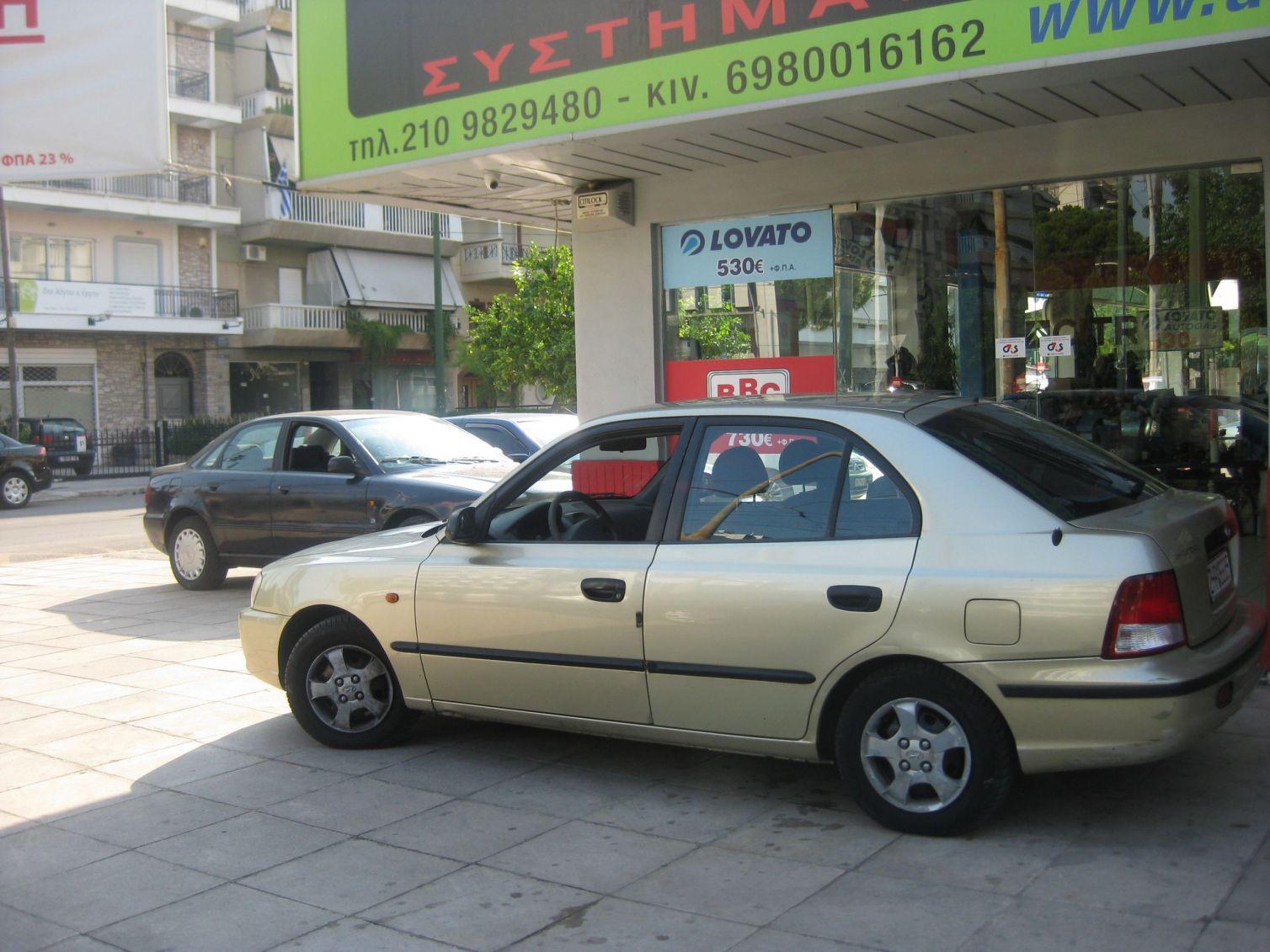 HYUNDAI ACCENT 1300cc '04 ME BRC 42LT