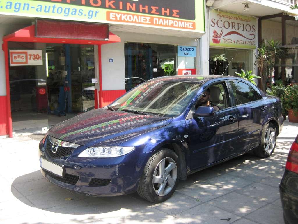 MAZDA 6 1800cc, 2004 ME BRC 59ΛΤ