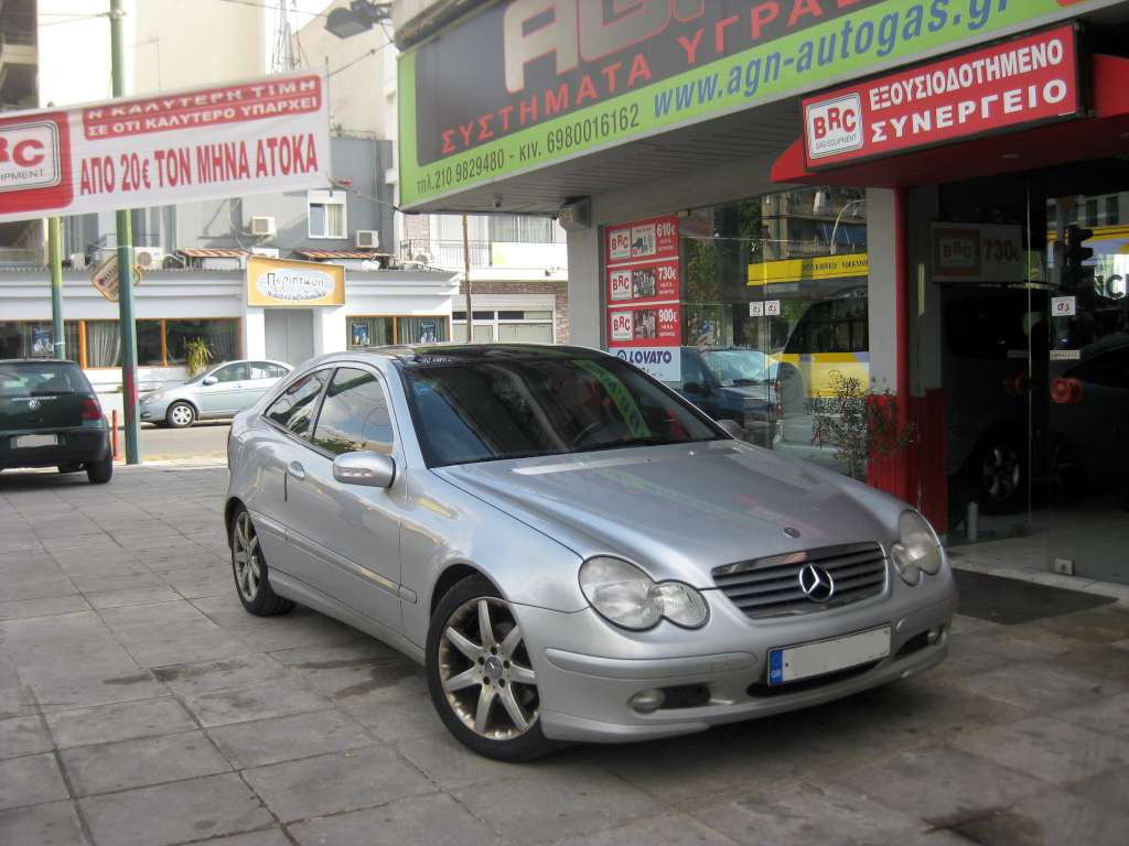 MERCEDES C200 KOMPRESSOR '06 COUPE ME BRC P&D 60LT