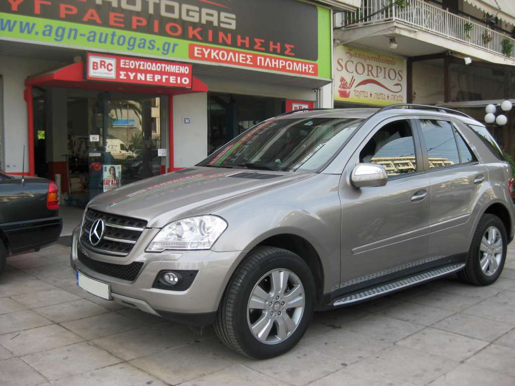 MERCEDES ML 350 '09 ME BRC P&D (6KYL) 54LT