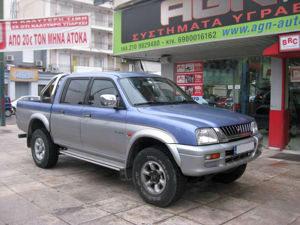MITSUBISHI L200 2400cc '03 115 ip ME ZANARDI 69ΛΤ