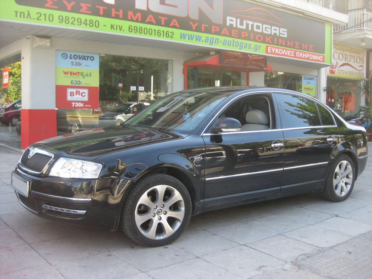SKODA OCTAVIA SUPERB 1800cc '07 TURBO ME BRC 47lt