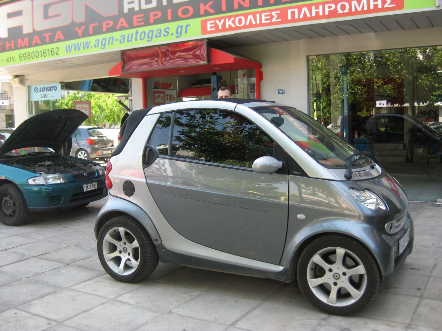 SMART FOURTWO 600cc '99 ME BRC P&D 27LT