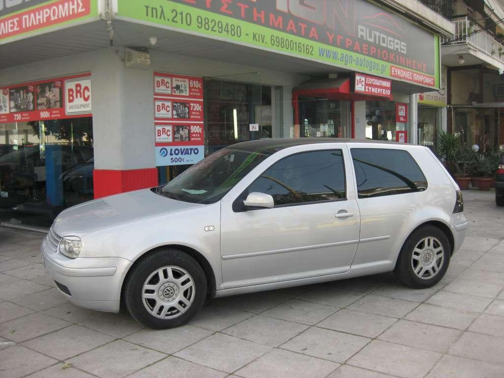 VW GOLF 1400cc '99 ME BRC ALBA 54ΛΤ