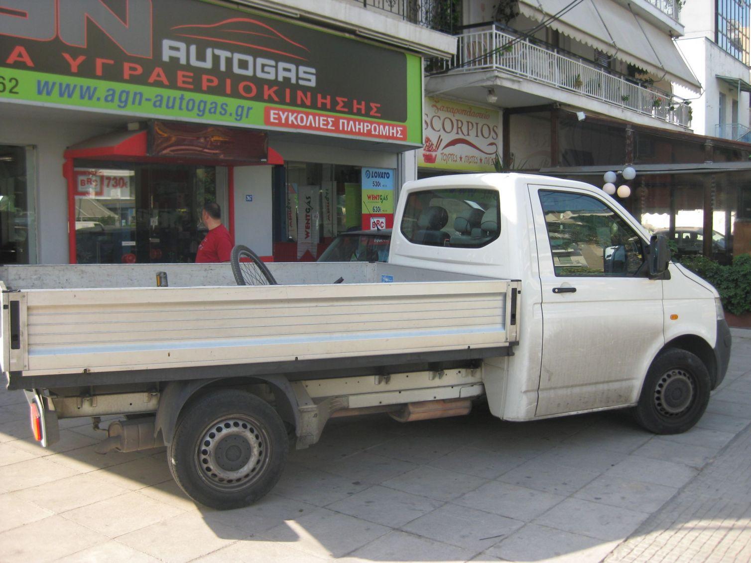VW TRANSP. 7J0 ANOIKTO 2000cc '06 ME BRC 55LT